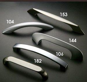 Asas tiradores 104 144 153 169 zamak