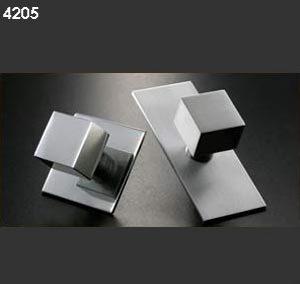 Pomos 4205 aluminio