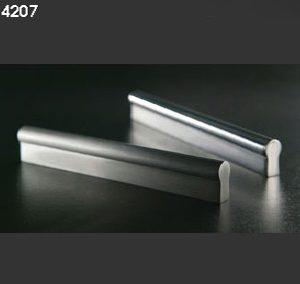 Asas tiradores 4207 aluminio