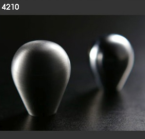 Pomos 4210 aluminio