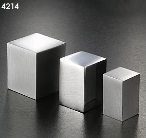 Pomos 4214 aluminio