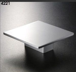 Pomos 4221 aluminio