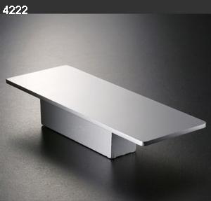 Pomos 4222 aluminio