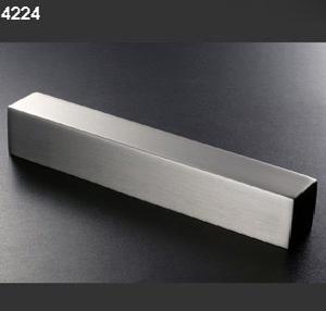 Asas tiradores 4224 aluminio